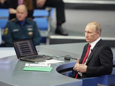 بوتين يعد بتنظيم مشرف لمونديال 2018