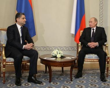 بوتين: حجم الاستثمارات الروسية فيى الاقتصاد الارمني يقدر بـ 3 مليارات دولار