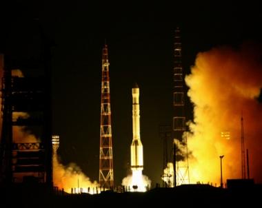 نجاح اطلاق الصاروخ الحامل