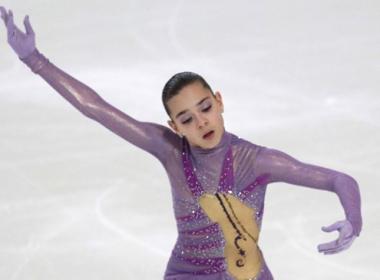 سوتنيكوفا بطلة روسيا في التزحلق الفني لفردي السيدات