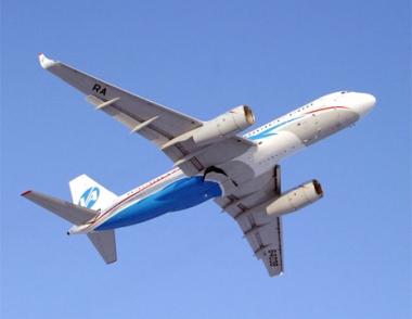 طائرة الركاب الروسية الجديدة