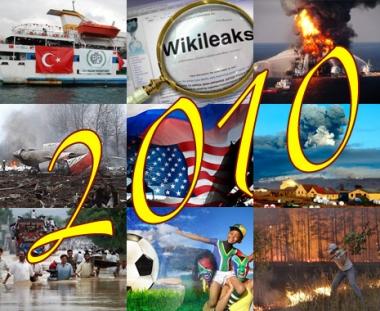 أهم الأحداث في عام 2010