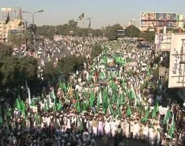 إضراب عام يشل باكستان ضد إلغاء قانون التجديف