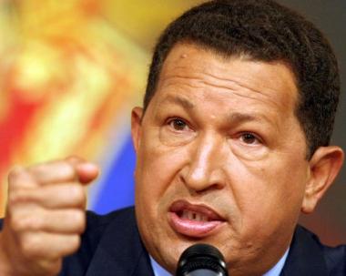 شافيز يندد بالأمين العام لمنظمة الدول الأمريكية
