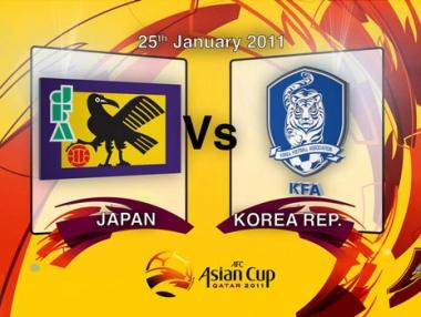 قمة مبكرة بين اليابان وكوريا الجنوبية في كأس آسيا