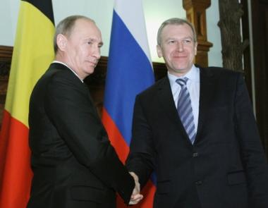بوتين: روسيا وبلجيكا تناقشان امكانية زيادة حجوم توريد الغاز الروسي الى بلجيكا