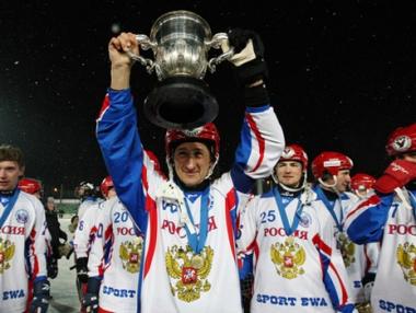 روسيا بطلة العالم للمرة السادسة في هوكي الجليد بالكرة