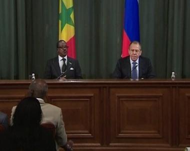 لافروف: روسيا تساند التسوية السلمية لازمة ساحل العاج