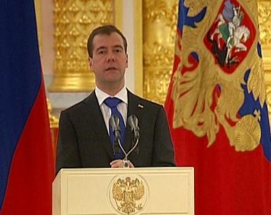مدفيديف: روسيا ستبذكل كل جهدها في سبيل احلال السلام في الشرق الاوسط
