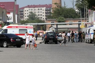 اصابة شخص في الانفجار الرابع خلال اليومين الاخيرين في غروزني