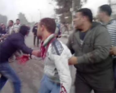 إصابة شخص بجروح في مظاهرة في مدينة ببا محافظة بني سويف