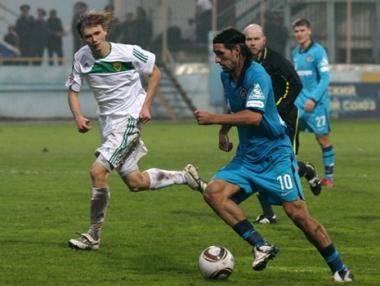 قمة مبكرة بين زينيت بطرسبورغ وتسيسكا موسكو في ربع نهائي كأس روسيا