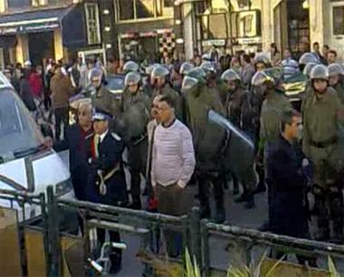 مظاهرة بمدينة خريبكة المغربية