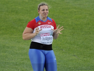 الروسية ادييفا تحرز ذهبية أوروبا لرمي الجلة