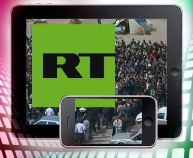 روسيا اليوم على اجهزة الايفون والايباد