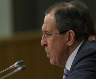 لافروف: روسيا لا تربط بين مسألة انضمامها الى منظمة التجارة العالمية وتقديم