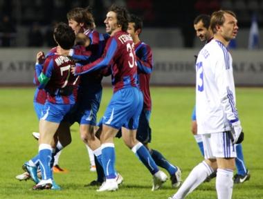 بداية موفقة لفريق فولغا الوافد الى الدوري الروسي الممتاز