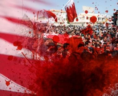 صور مروعة من الشارع البحريني