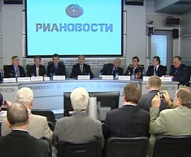 مؤتمر صحفي لخبراء شاركوا في مكافحة آثار تشيرنوبيل