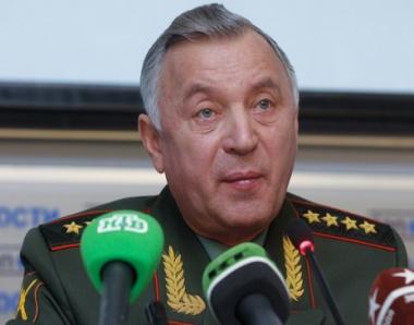 رئيس هيئة الاركان الروسية ينفي فكرة مشاركة روسيا في عمليات قوات التحالف ضد ليبيا