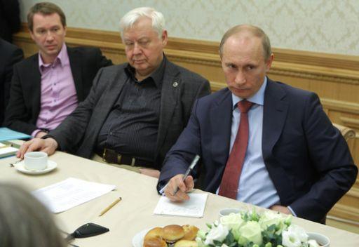 بوتين: حكومة روسيا تنوي زيادة دعمها لمجال الثقافة