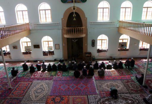 من مسجد الجمعة في دربند انتشر الاسلام بروسيا