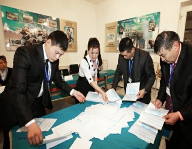 فوز رئيس كازاخستان الحالي في الاتخابات الرئاسية بنسبة 95% من الاصوات