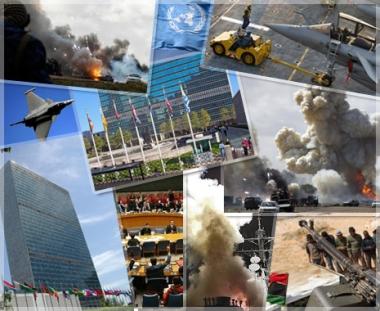 ليبيا والغرب والقانون الدولي
