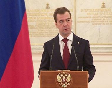 مدفيديف يؤكد عدم مشاركة روسيا في العمليات في شمال افريقيا