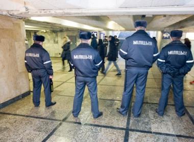 القاء القبض على مشتبه بهم في تنفيذ العمل الارهابي في مترو مينسك