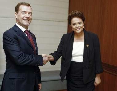 الرئيسان الروسي والبرازيلي يؤكدان على تطور التعاون الثنائي بوتائر ايجابية