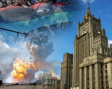 الخارجية الروسية: موسكو قلقة من العواقب الانسانية الوخيمة الناجمة عن العمليات الحربية في ليبيا