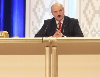 لوكاشينكو: بيلاروس تتعرض الى ضغوط خارجية مكثفة