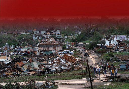 اكثر من 70 قتيلا بسبب الاعصار الذي ضرب جنوب الولايات المتحدة