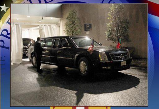 سيارة اوباما الكاديلاك المدرعه c1f1a371d6b127c1b241