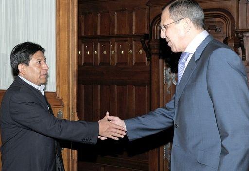 وزير الخارجية البوليفي: نحن نود مكافحة تجارة المخدرات بواسطة المروحيات الروسية
