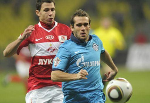 كيرجاكوف يحرز هدفه اليوبيلي المئوي في الدوري الروسي الممتاز لكرة القدم