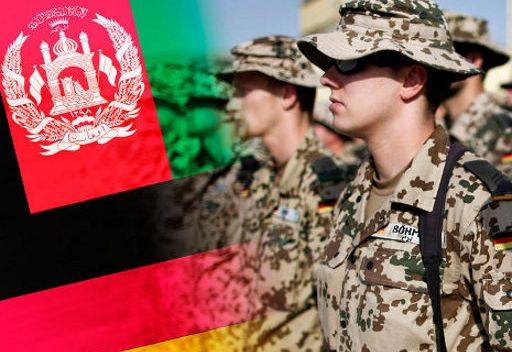 برلين تؤكد بقاء القوات الالمانية في افغانستان بعد عام 2014
