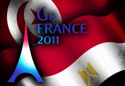 ساركوزي يعلن منح 40 مليار دولار كمساعدات لتونس ومصر
