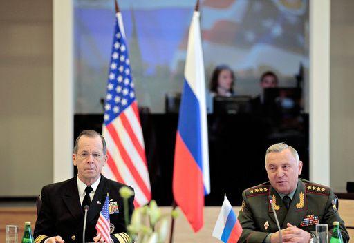 لقاء رئيسي الاركان الروسي والامريكي في بطرسبورغ