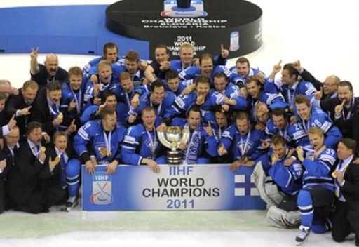 فنلندا بطلة للعالم بالهوكي