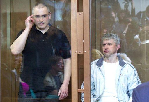 خودوركوفسكي وليبيديف يقدمان طلب الافراج عنهما قبل الموعد المقرر