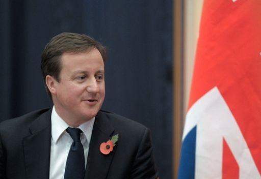 كاميرون: بريطانيا ستسحب من افغانسان 400 عسكري حتى نهاية العام الحالي