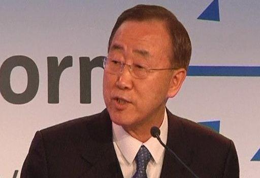بام كي مون: دمشق وافقت على استقبال مراقبي الأمم المتحدة