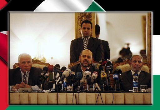 الفصائل الفلسطينية توقع على وثيقة المصالحة