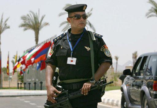 ضابط مصري