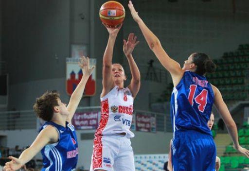 روسيا تبلغ ربع نهائي بطولة أوروبا بكرة السلة للسيدات