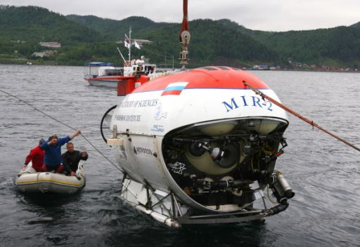 البعثة العلمية الروسية الى بحيرة جنيف تباشر ابحاثها