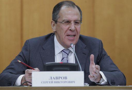 لافروف: روسيا تفعل ما بوسعها لعدم تكرار السيناريو الليبي في سورية