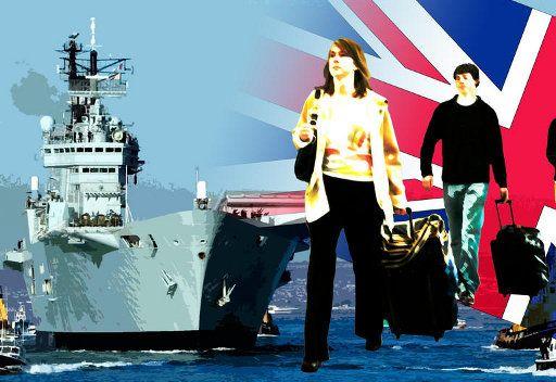 بريطانيا على أهبة الاستعداد لاجلاء رعاياها من اليمن
